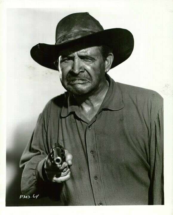 """~ Barton MacLane ~ """"Outlaws"""" as a Marshal & appeared often of """"Laramie"""" & Gunsmoke""""....Playing bad didn't get any better...."""