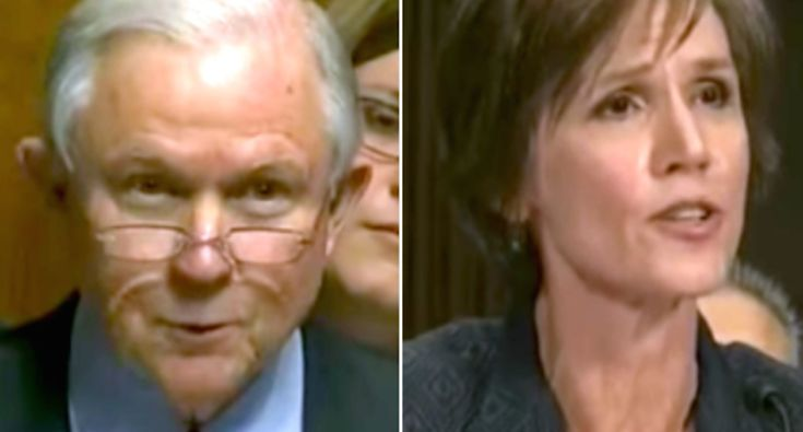 WATCH: Jeff Sessions grills Sally Yates on saying no to the president when she was Obama's nominee