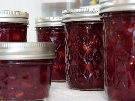 Raspberry Peach Jalapeno Jam Recipe