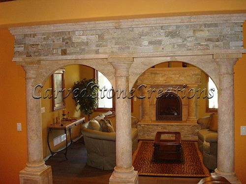 Decorative Interior Stone Veneer : Decorative interior stone veneer and exterior