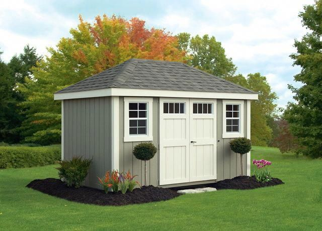 Amish Built Storage Sheds For Sale In Binghamton Ny Amish Barn Shedstorageideas Garden Storage Shed Shed Plans Shed Paint Colours