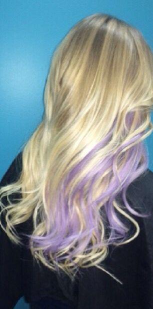 Best 25 purple peekaboo highlights ideas on pinterest purple blonde and purple peekaboo instagram beautybyblush methuenma pmusecretfo Images