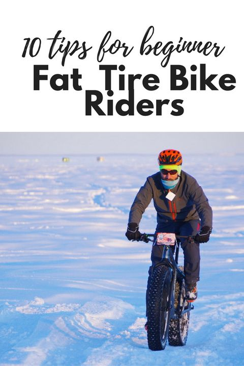 10 Tips for Beginner Fat Tire Bike Riders