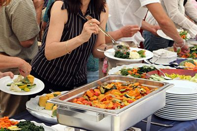 Self-Catering – How to Calculate the Food at Your Wedding Reception #SelfCateredWedding