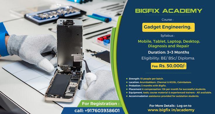 Training center for mobile/ laptop repair technicians.