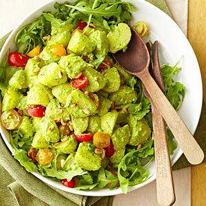 Arugula Pesto Potato Salad | Recipe | Potato Salad, Pesto and Potatoes