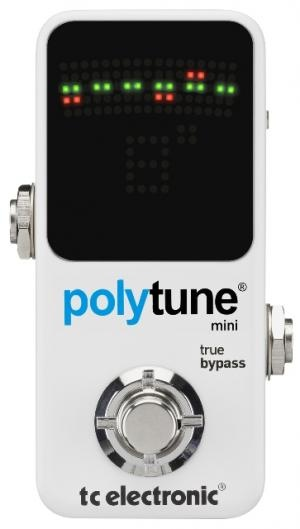 TC Electronics PolyTune Mini Tuner - Just introduced at NAMM 2012!!