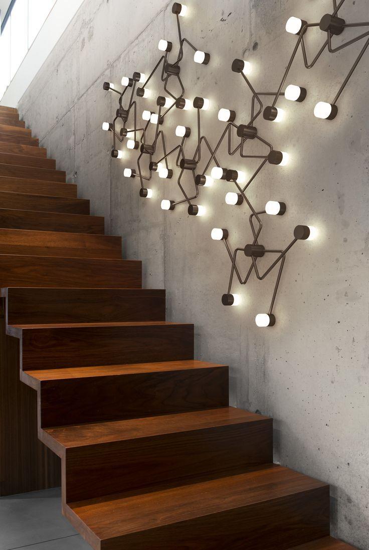 constellation lights #industrial #woodwork #metal