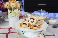 Pastry chef, Allyson Bobbitt, shares two dessert recipes perfect for embracing spring fruits.