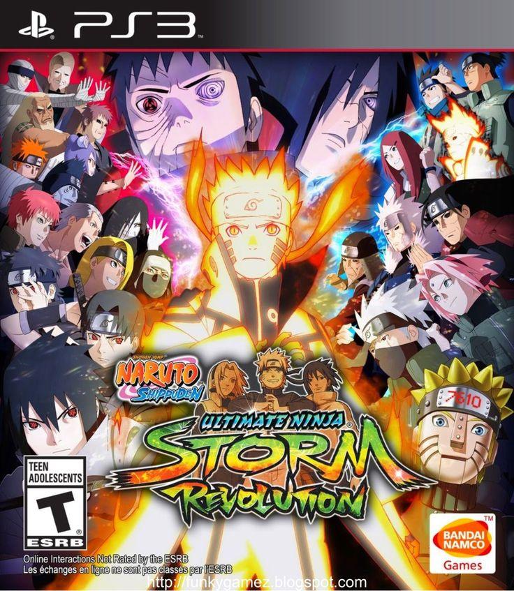 Naruto Shippuden Ultimate Ninja Storm Revolution PS3 ISO   Free Download