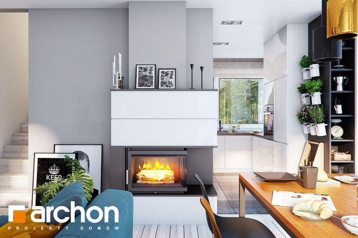 Projekt domu: Dom w żurawkach 7 - jednorodzinny, nowoczesny dom z poddaszem użytkowym.