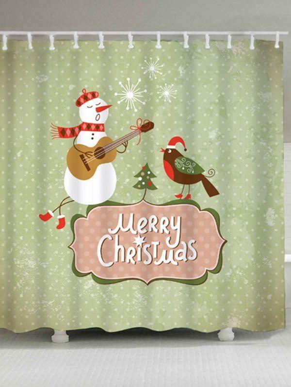 25+ beste ideeën over Snowman shower curtain op Pinterest - Kerst ...