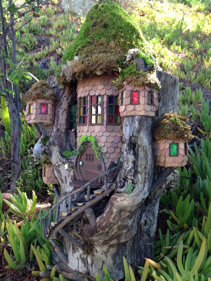 394 Best Images About Fairy Houses On Pinterest Fairy