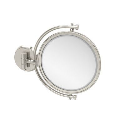 Allied Brass Universal Extendable Mirror Magnification: 2x, Finish: Polished Nickel