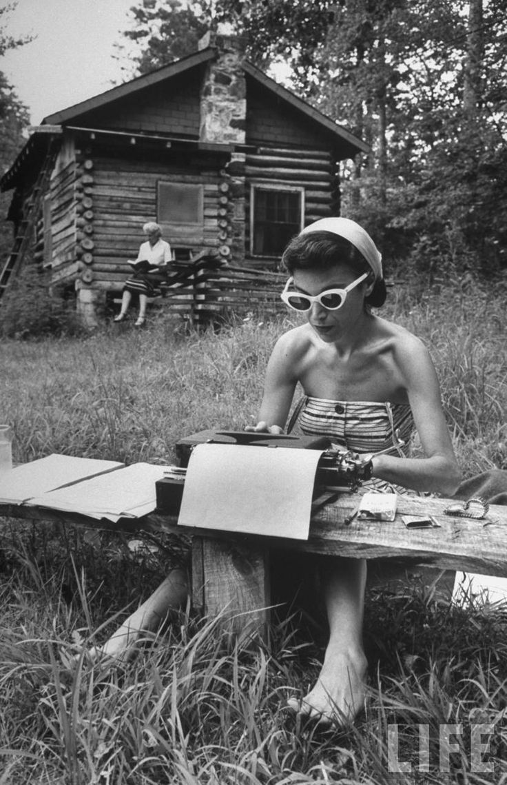 Focused in our Element.  Summer, 1959.  Photo by Alfred Eisenstaedt for Life magazine.