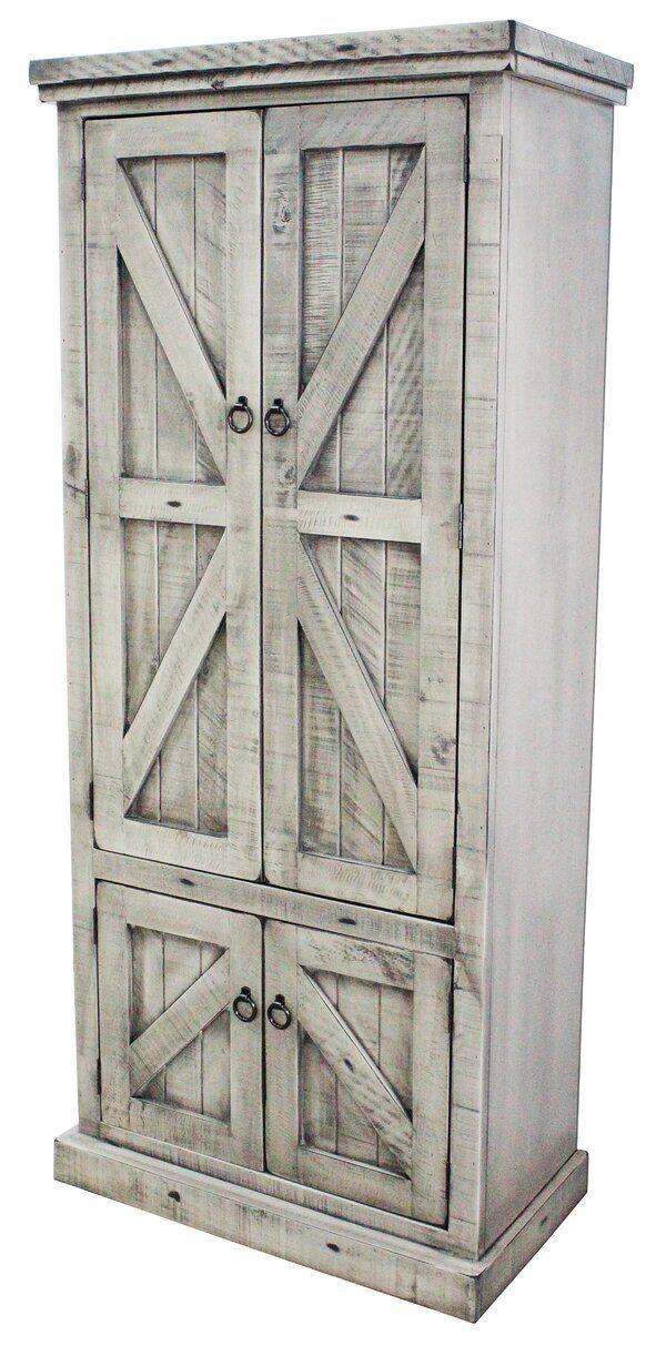 Zimmerman 75 Kitchen Pantry In 2020 Rustic Pantry Rustic Pantry Cabinets Pantry Cabinet