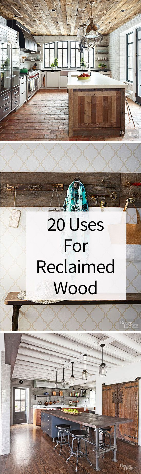 20 brilliant uses for reclaimed wood wood projects for Reclaimed wood dc