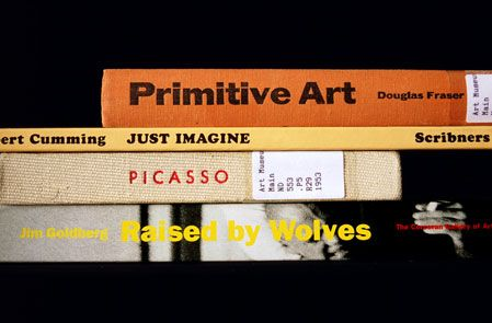 Found poems made from book titles.