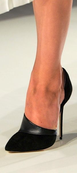 Victoria Beckham fall 2014 ~ 50 Ultra Trendy Designer Shoes For 2014 - Style Estate -