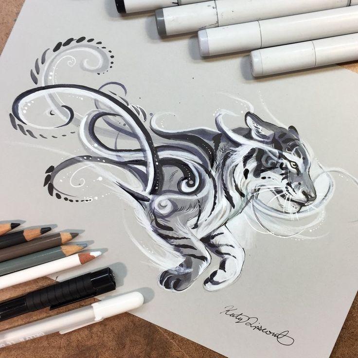 Black Tiger by Lucky978.deviantart.com on @DeviantArt