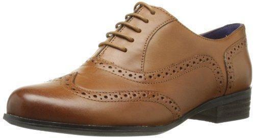 Oferta: 99.9€ Dto: -48%. Comprar Ofertas de Clarks Hamble Oak - Zapatos de cuero para mujer, Dark Tan Leather, 41 barato. ¡Mira las ofertas!