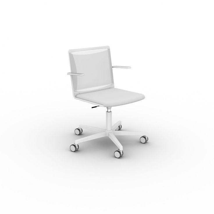 Семейство KLIKIT от VIASIT: кресла для персонала, стулья для конференц-залов, барные стулья, скамьи для посетителей отличаются элегантностью и свежим итальянским дизайном. 2 модели. Спинка и сиденье - полипропилен. Цвет: белый, черный, серый. Спинка - сетка (цвет: белый, черный, серый), сиденье - полипропилен (цвет: белый, черный, серый).