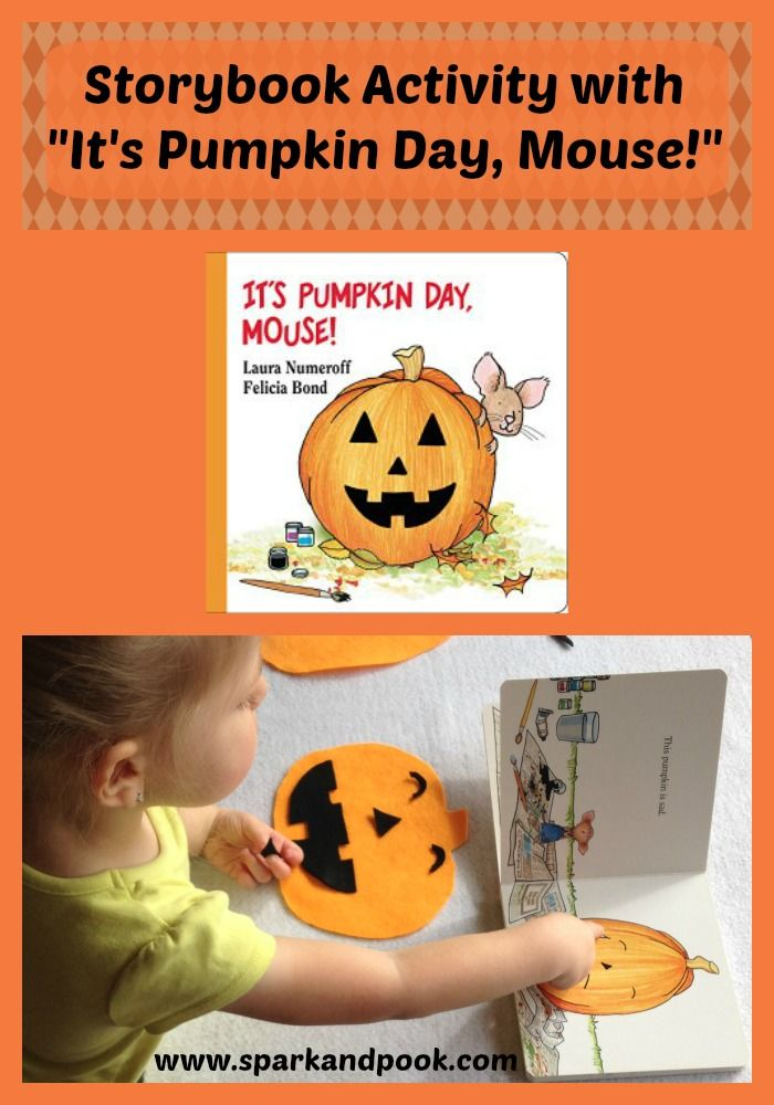Pooky and I enjoy reading together, and we also enjoy doing activities based on the books we read. Lately, we've been reading and doing activities with pumpkin books. You can read all about our learning fun with Duck and Goose find a Pumpkin here. Most recently we did a felt activity withIt's Pumpkin Day, Mouse!. …