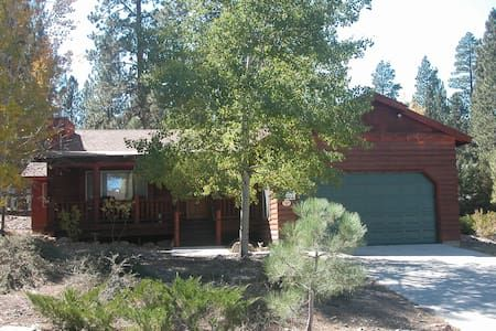 Check out this awesome listing on Airbnb: LOG CABIN 3 Bdrm, 2 Bath Near Lake - Houses for Rent in Big Bear Lake