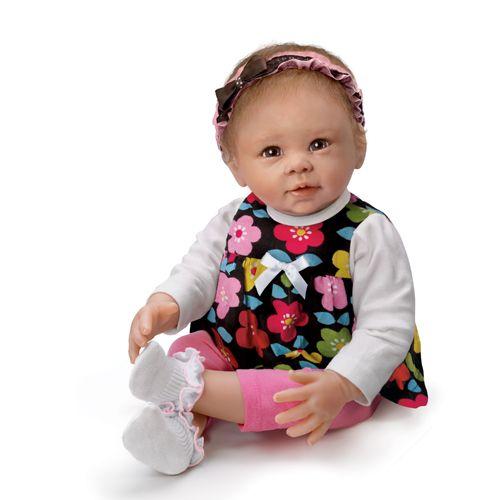 Коллекционная кукла виниловая - Сладкая девочка