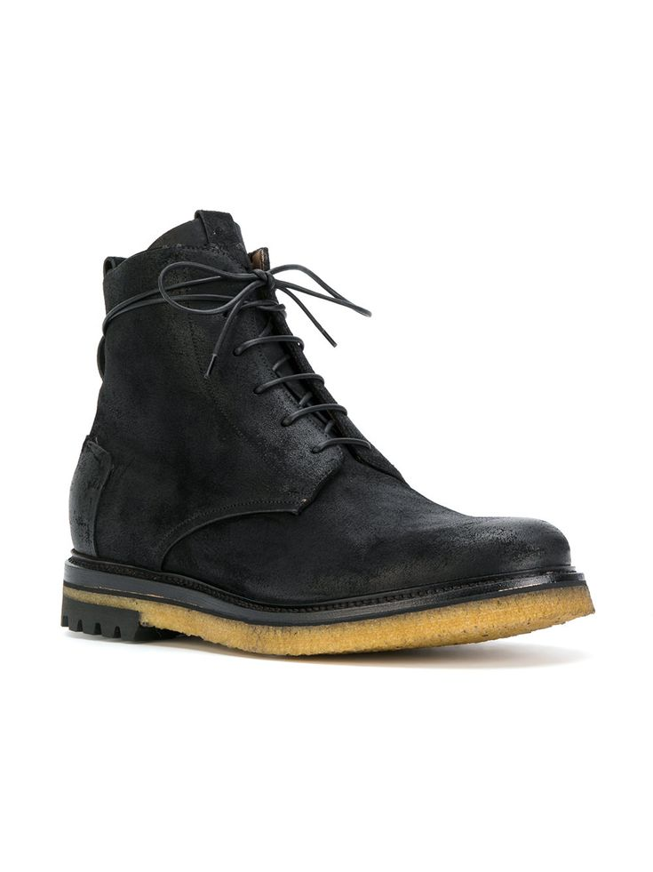 Silvano Sassetti lace-up boots · Lace Up BootsMenswearFootwearMale Clothing ShoeLace Up Combat ...