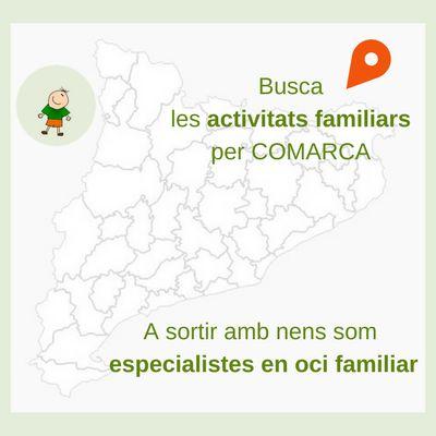Troba les activitats familiars per comarca a Sortir amb nens