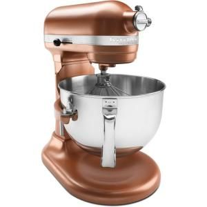 To go with my copper sink.... KitchenAid Professional 600 Series 6 qt. Stand Mixer in Copper Pearl-KP26M1XCE at The Home Depot