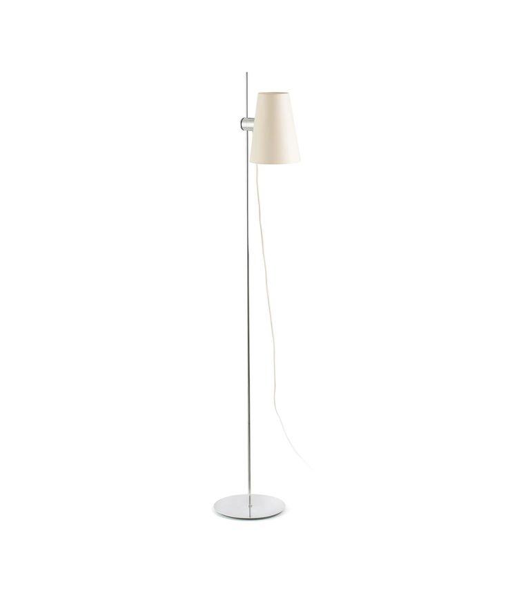 Lámpara de pie LUPE cromo
