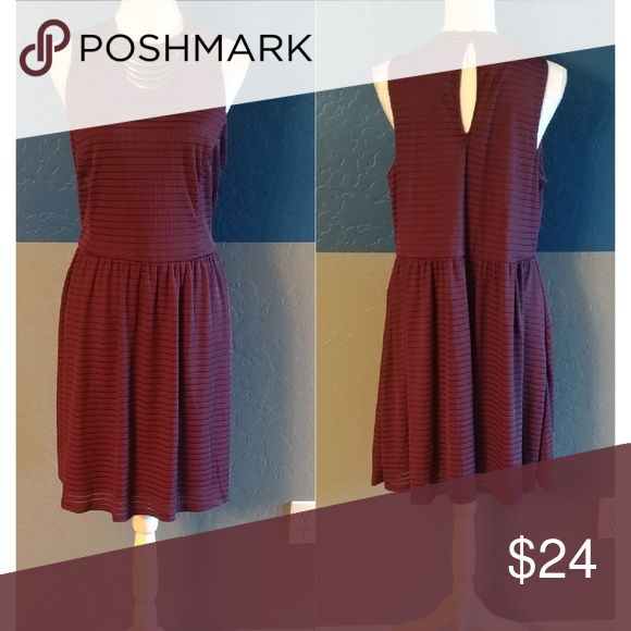 "Xhilaration Dress Plus Size XXL Beautiful Purple Sleeveless Dress  44"" Bust  36"" Length  Polyester Spandex Bundle and Save Xhilaration Dresses"