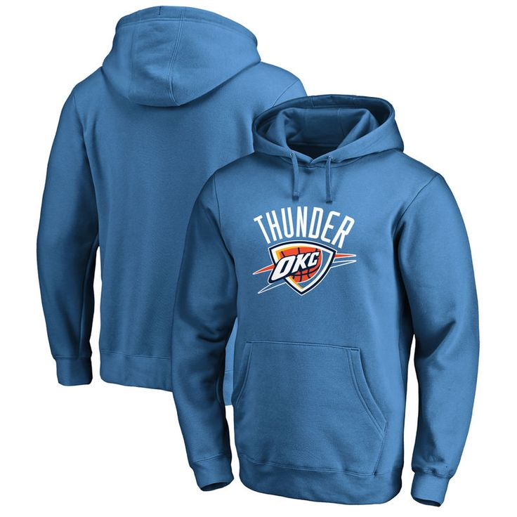 Oklahoma City Thunder Team Essential Pullover Hoodie - Blue