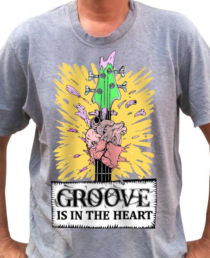 Groove is in the Heart - Color - Grey Shirt