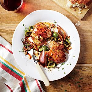 Pork Cutlets with Orange Gremolata | #myplate,#protein