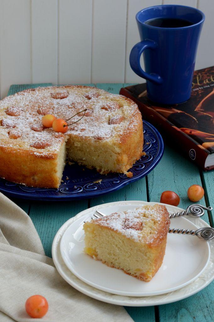 Whisk Affair: Fresh Cherry and Rum Cake | Baking Adventures | Pintere ...