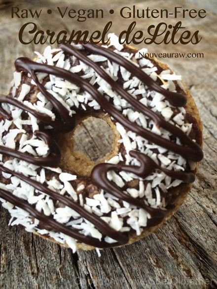 Caramel deLights: a firm and chewy taste of heaven (raw, vegan).