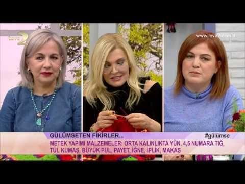 Derya Baykal'la Gülümse: Arkadaşlık Bilekliği ve Örgü Kalemlik Yapımı - YouTube
