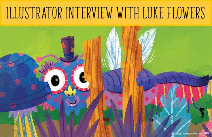 Inspiration for creatives everywhere! Read our interview with ace children's illustrator Luke Flowers: http://www.storytimemagazine.com/news/inside-stories/illustrator-interview-luke-flowers/