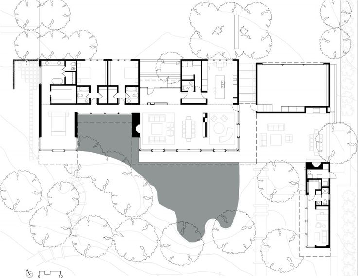 Atherton Residence : By Turnbull Griffin Haesloop Architects ...