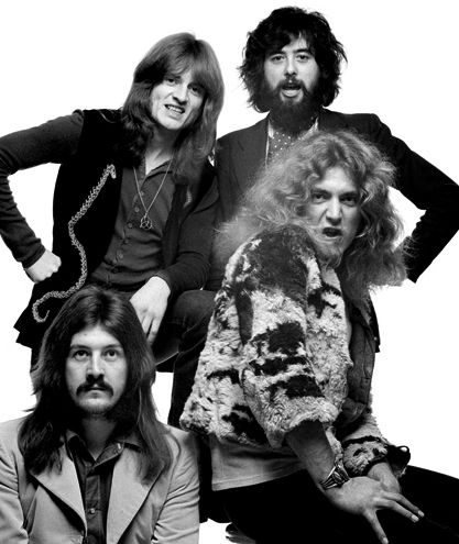 John Bonham, John Paul Jones, Jimmy Page and Robert Plant | Led Zeppelin