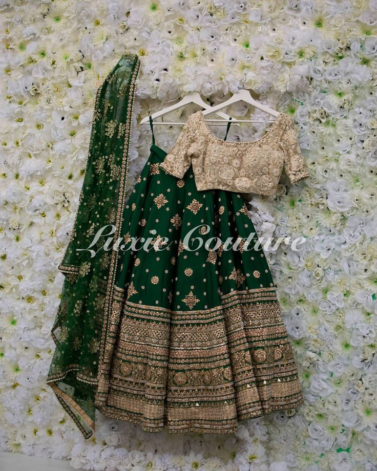 Our signature gotta love lengha customized with scattered hand embroidery This piece can be made in any color combination. For any price inquiries please email luxiecouture@hotmail.com #luxiecouture #indianfashion #indianstreetfashion #lenghacholi #lehenga #punjabibride #indianwedding #ladiessangeet #indianbride #anarkali #southasianbride #lengha #wedmegood #indiancouture #indianblogger #indiandress #indianstyle #saree #sari #ootd #mumbai #sikhwedding #vancouver #desibeautyblog #punja...