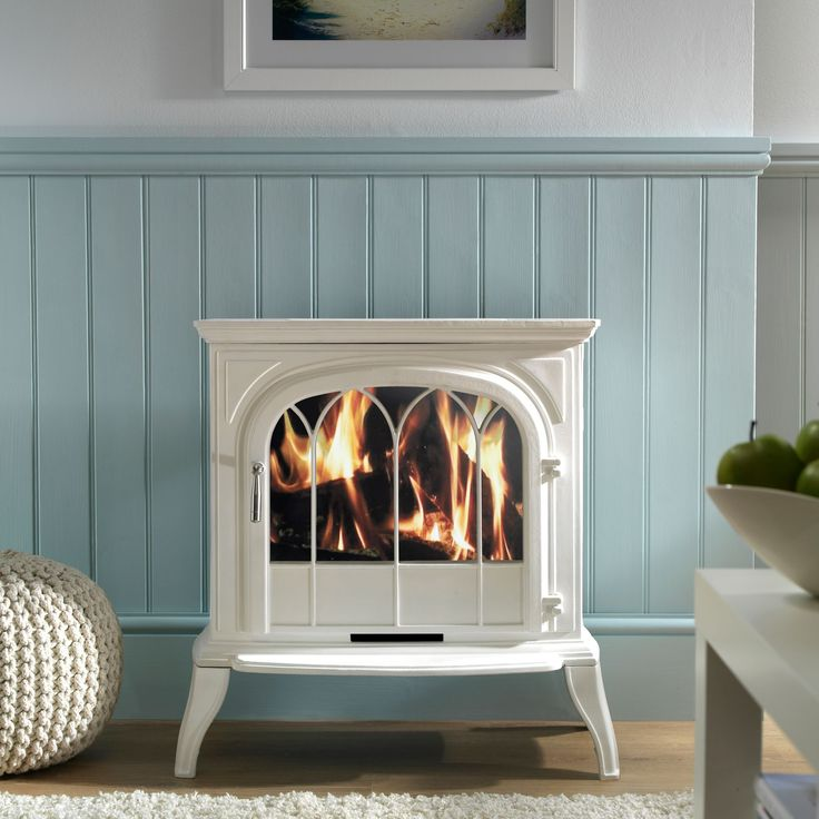 Focal Point Leirvik White Electric Stove | Departments | DIY at B&Q