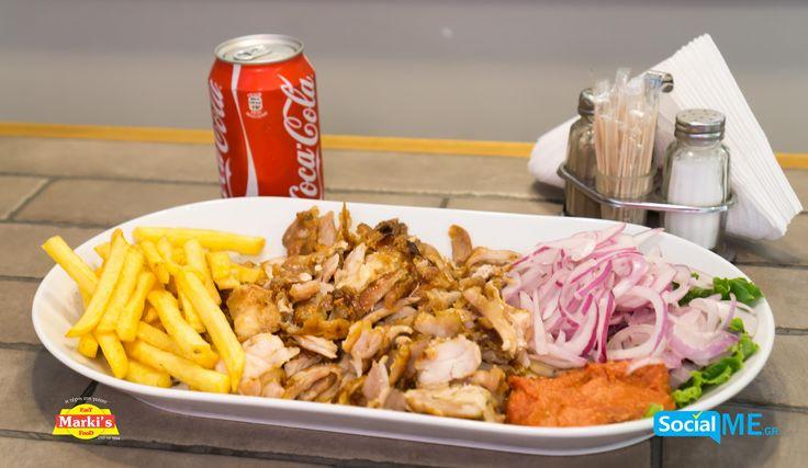 Γύρο Κοτόπουλο η Γύρο Χοιρινό για σήμερα;;; Τι επιλέγεις;;; Παραγγελία Online: www.markisfood.gr με -20% στην πρώτη σου παραγγελία..!!! #MarkisFood #Food #Thessaloniki