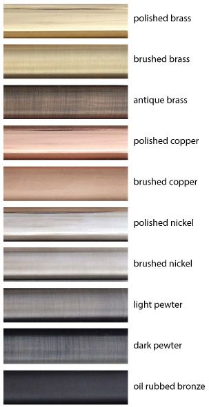 METAL FINISHES - I'm thinking a combo of polished copper and dark pewter throughout the house. with a little chrome and glass here and there. http://www.thecoolhunter.net