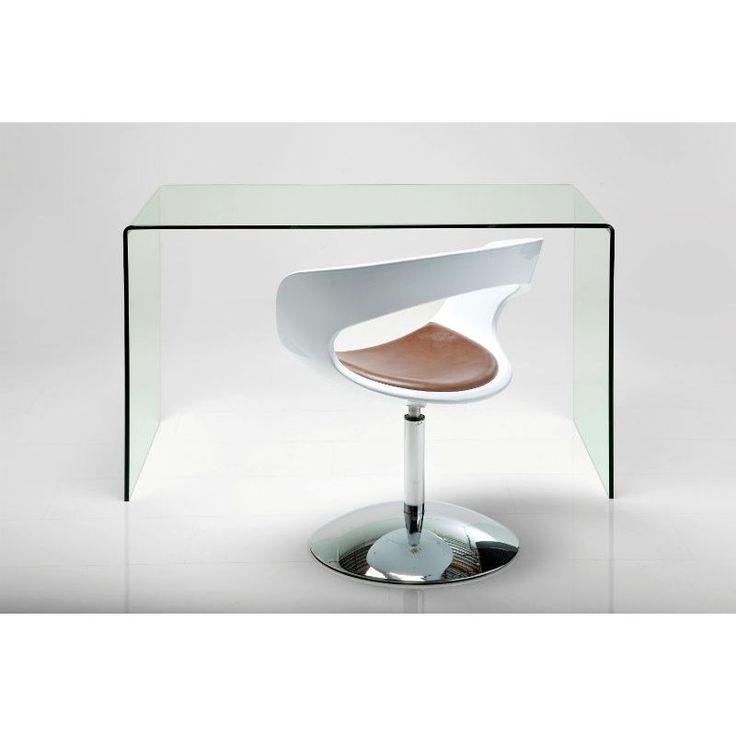 Γυάλινο Γραφείο Clear Club Μοναδικό γραφείο, για μια άκρως μοντέρνα και κομψή διακόσμηση! Υλικά: κατασκευασμένο από γυαλί 12mm.