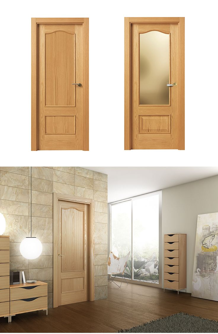 M s de 25 ideas incre bles sobre puertas dobles en for Puertas interiores de madera con cristal