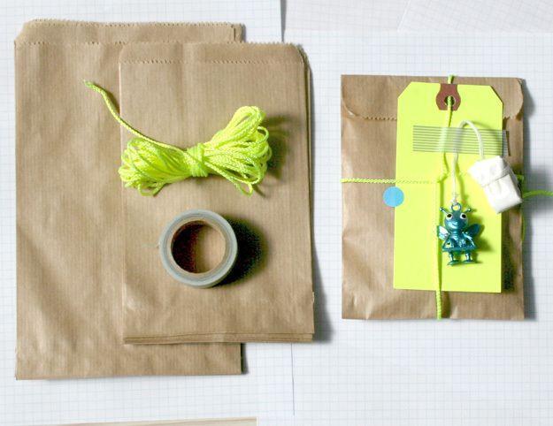15 bruine papieren zakken: 10 cm van KidsPartyKitchen op DaWanda.com